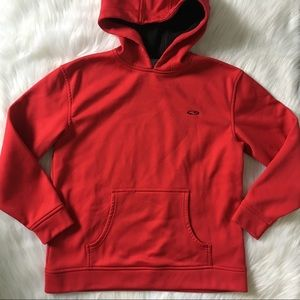 CG by Champion Boy's Red and Black Pullover Hoodie